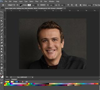 vektor wajah dengan photoshop