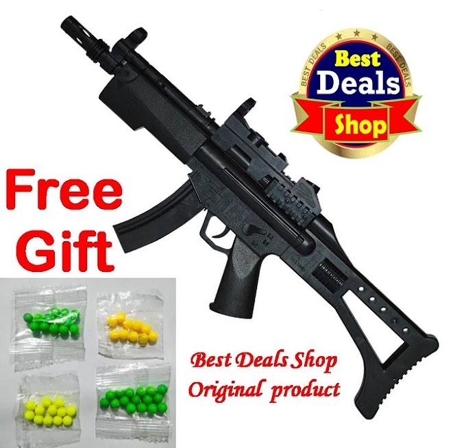 Big Sniper gun Toy boy Playing Toy gun Shooting PUBG gun sniper model bullet gun