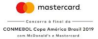Promoção Mastercard e McDonald's na Copa América euquerocopaamericacommc.com