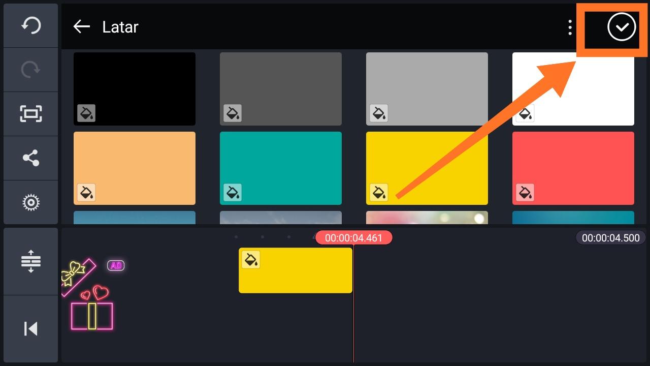 Cara membuat gambar GIF bergerak di Kinemaster