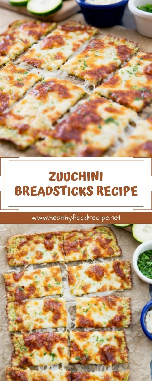 ZUUCHINI BREADSTICKS RECIPE