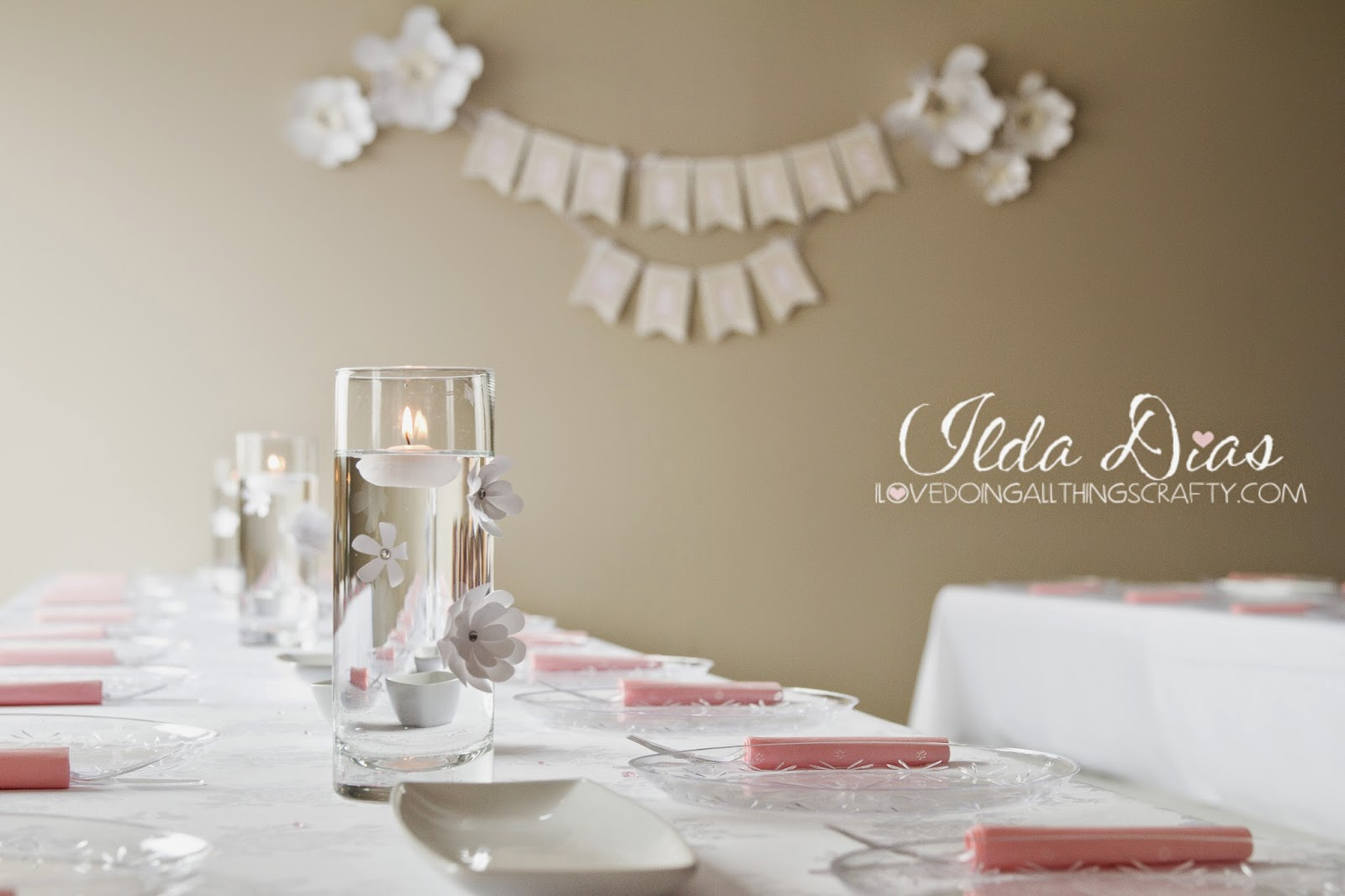 First Communion Day + DIY Decor, Table Set Up and Decor