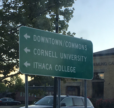 Back to Cornell for 3rd MBA Classmate's Wedding