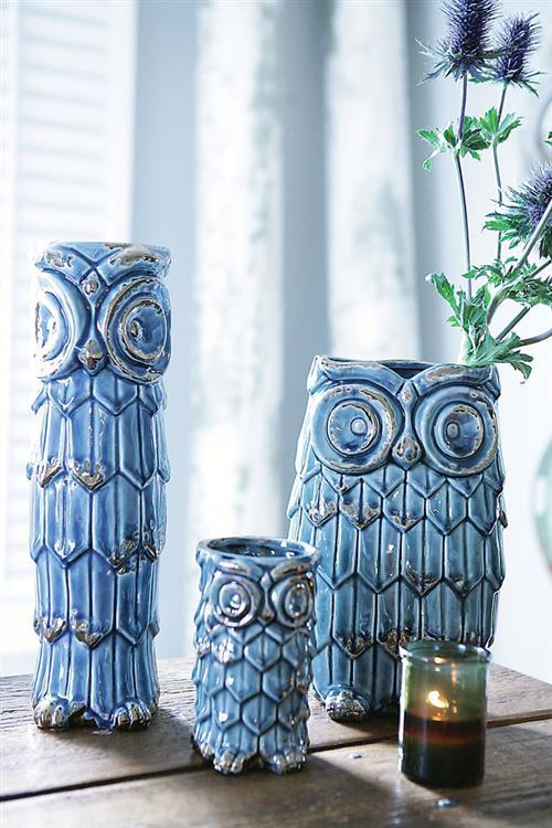 My Owl Barn Ceramic Owl Vase