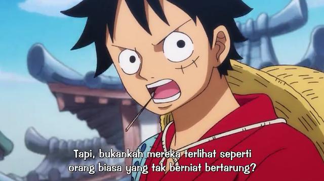 One Piece Episode 902 Subtitle Indonesia