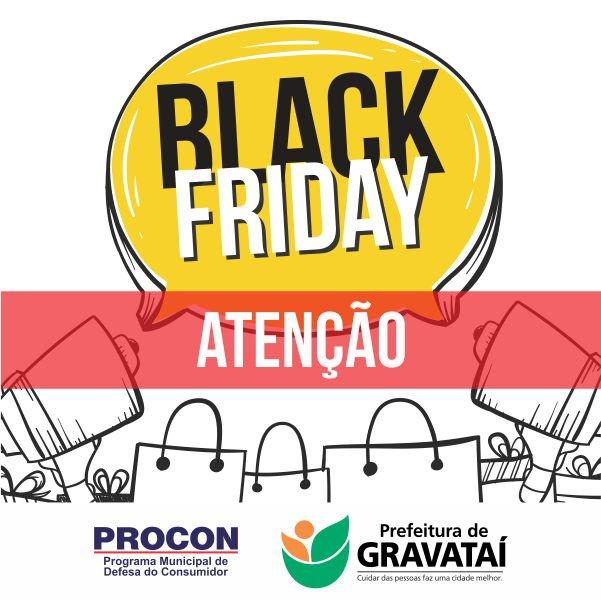 Procon de Gravataí dá dicas para uma compra segura na Black Friday