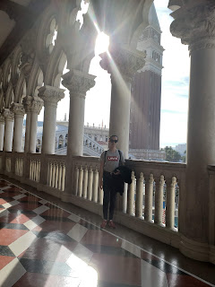 Balcony at the Palazzo and The Venetian in Las Vegas Nevada
