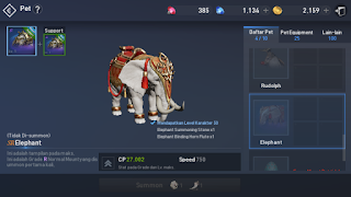 mount pet Elephant