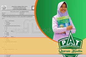 Soal PAT Quran Hadis MI (KMA 183) dan Kunci Jawaban
