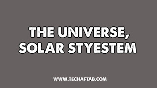 The Universe & Our Solar System Thumbnail