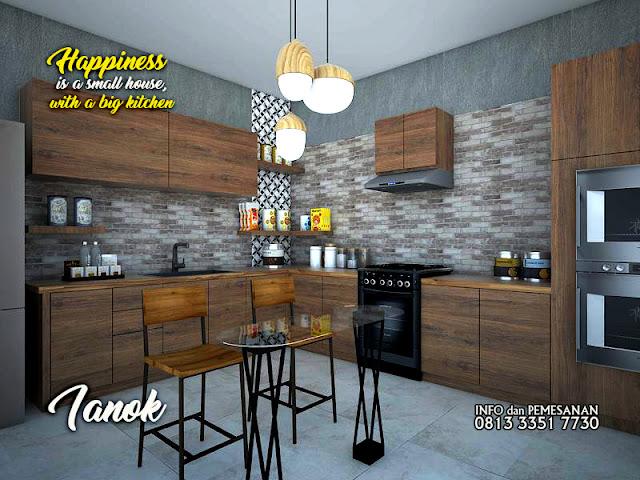 Kitchen set minimalis murah surabaya