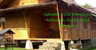 Gambar Villa Kampung Karuhun Sutan Raja Ciwidey