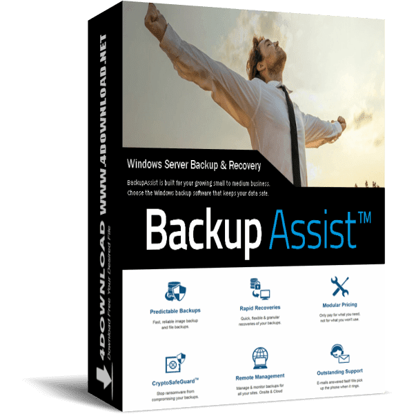 BackupAssist v10.4.3 Full version