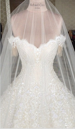 Michael Cinco S Wedding Gown For Marian Rivera Fit And Fashion Mom