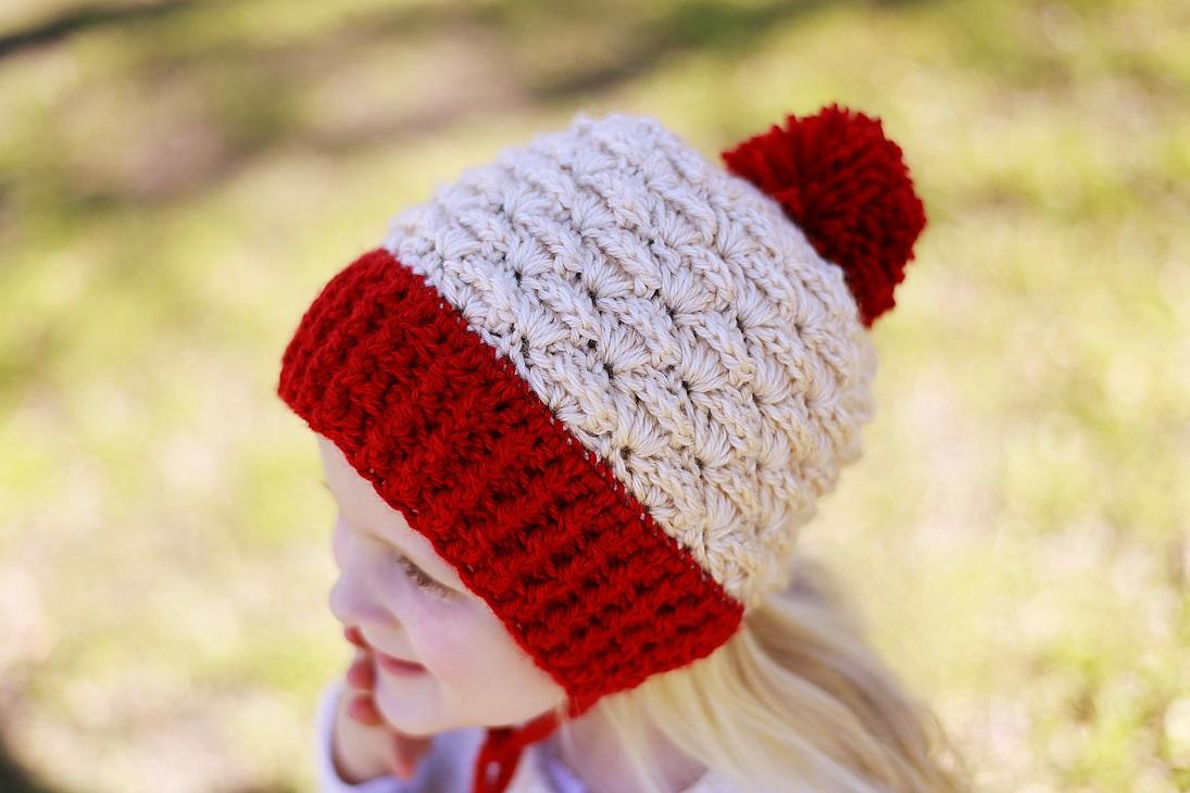 Eden Ear Flap Hat Crochet Pattern, Sizes 0-3 months to Woman ...