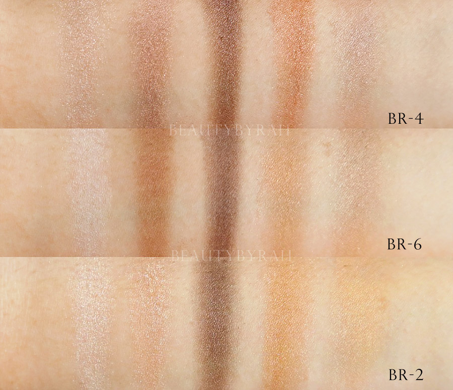 Kate Fall Winter Brown Shade Eyes Eyeshadow Review and Swatches