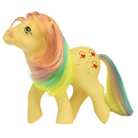 My Little Pony Trickels Classic Rainbow Ponies II G1 Retro Pony