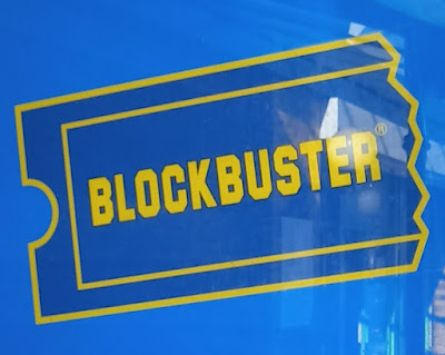 Blockbuster Video store in Fallowfield, Manchester