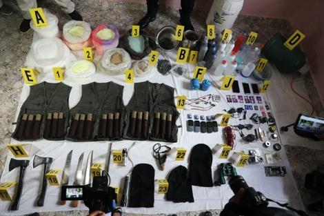 خطير وعاجل ..الأمن يفكك خلية إرهابية خطيرة كانت تخطط لعمليات ارهابية تزعزع استقرار المغرب....