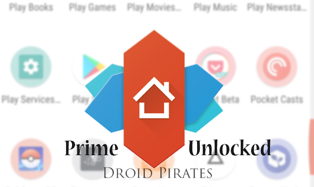 Nova Launcher Prime, one of the most popular third-party Android launchers on the Google Play Store.