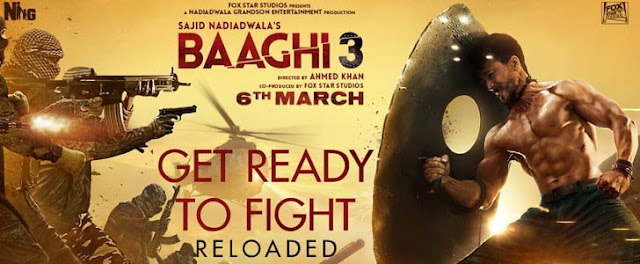 Get Ready To Fight Reloaded Lyrics – Baaghi 3