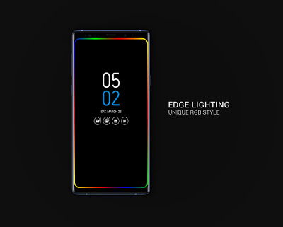 Always on AMOLED | Edge Lighting 🌟