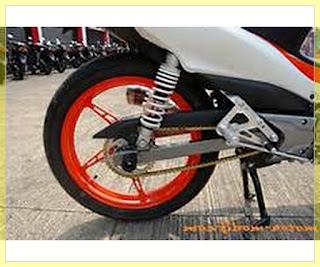 Modifikasi Jupiter Z Burhan Racing Velg Jari Jari Racing Terbaru