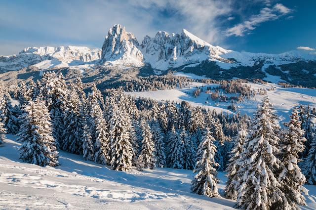 neve alpi nevicata