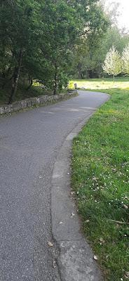 parte do percurso do Parque Oriental do Porto
