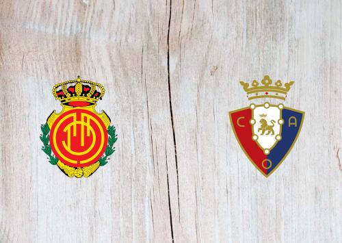 Mallorca vs Osasuna -Highlights 31 October 2019