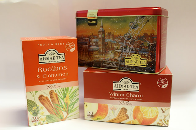 spiced winter teas