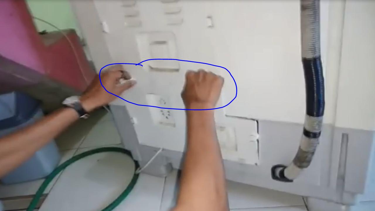 bocor mesin cuci polytron 2 tabung