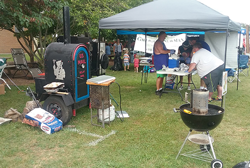 Smokin' In McMinnville BBQ competition 2016