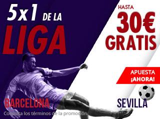 suertia promocion Barcelona vs Sevilla 20 octubre