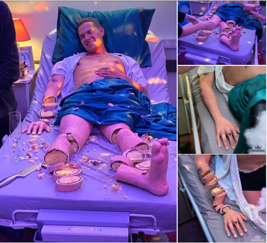 क्या यह वास्तव में अस्पताल के बिस्तर या केक पर एक आदमी है? नेटिज़ेंस इन विचित्र वायरल तस्वीरों पर प्रतिक्रिया करते हैं