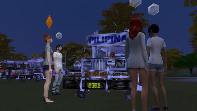 Sims 4 Pinoy Stuff Pack Jeepney