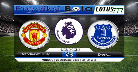 Prediksi Manchester United VS Everton 28 Oktober 2018