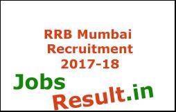 RRB Mumbai Recruitment 2017-18