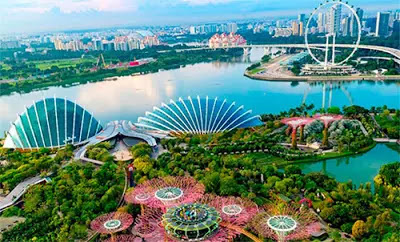 The most beautiful places in Singapore