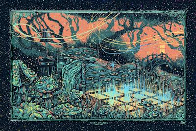 James Eads Fever Dreams Print Foil Edition