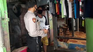 Bhabinkamtibmas Melayu Baru Terus Sosialisasikan Pencegahan Covid-19