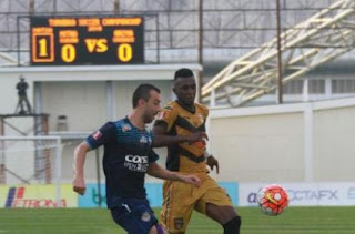 Arema Cronus vs Mitra Kukar 0-0 TSC Jumat 30 September 2016