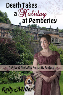 Book cover: Death Takes a Holiday at Pemberley by Kelly Miller