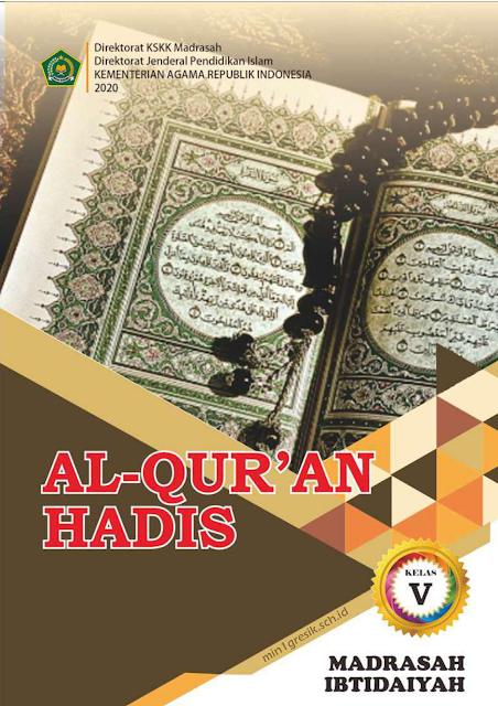 buku mata pelajaran quran hadis terbitan kskk madrasah kementerian agama ri