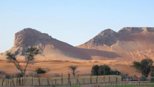 Mleiha, un tempo uno dei più grandi insediamenti degli Emirati (Foto David Millar)