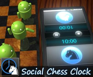 Social Chess Clock, aplicación Android que simula un reloj de ajedrez