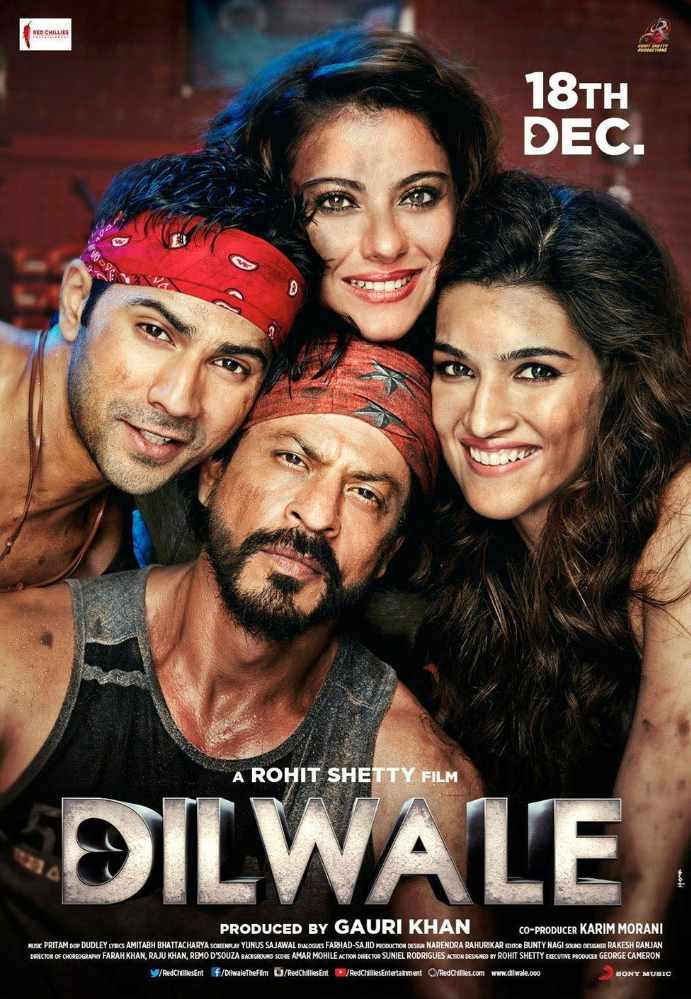 Dilwale (2015) Full Movie Download 720p HD Khatrimaza