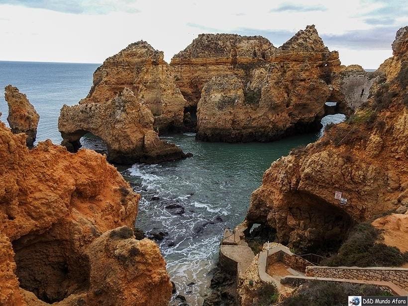 Ponta da Piedade em Lagos, Algarve