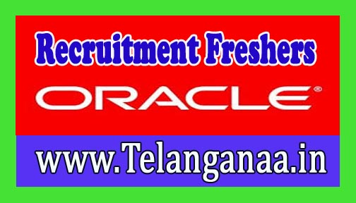 Oracle Recruitment 2016-2017 For Freshers
