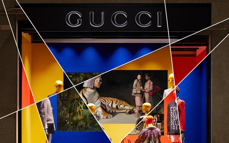 Gucci'den Dijital Vitrinler